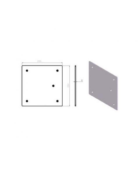 Embase de sol légères EM259 pour structure SZ290