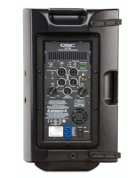 Enceinte amplifiée K10 de QSC en location.