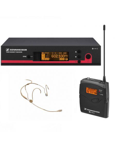Location ensemble micro serre tête avec émetteur récepteur Sennheiser