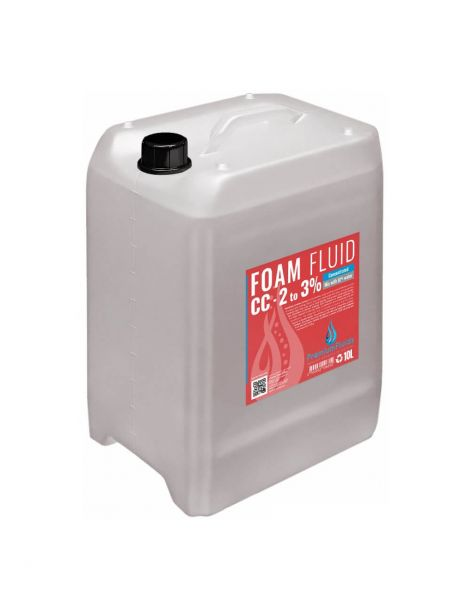 Bidon 10L FOAM FLUID 2 à 3% liquide machine à mousse