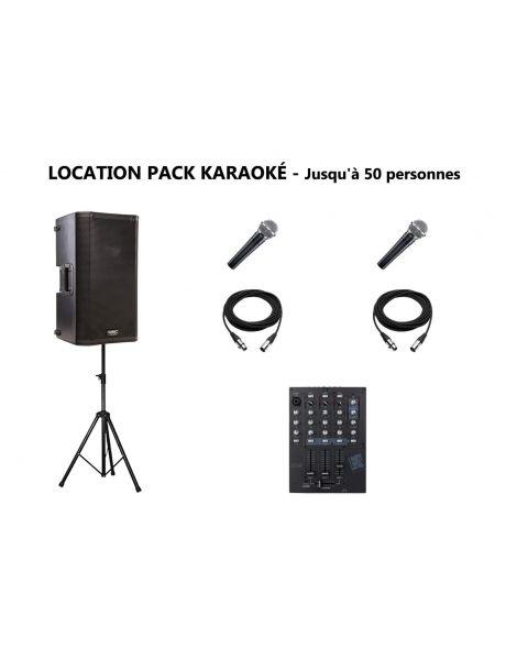 Location matériel karaoké Lyon : enceinte, micros, table de mixage