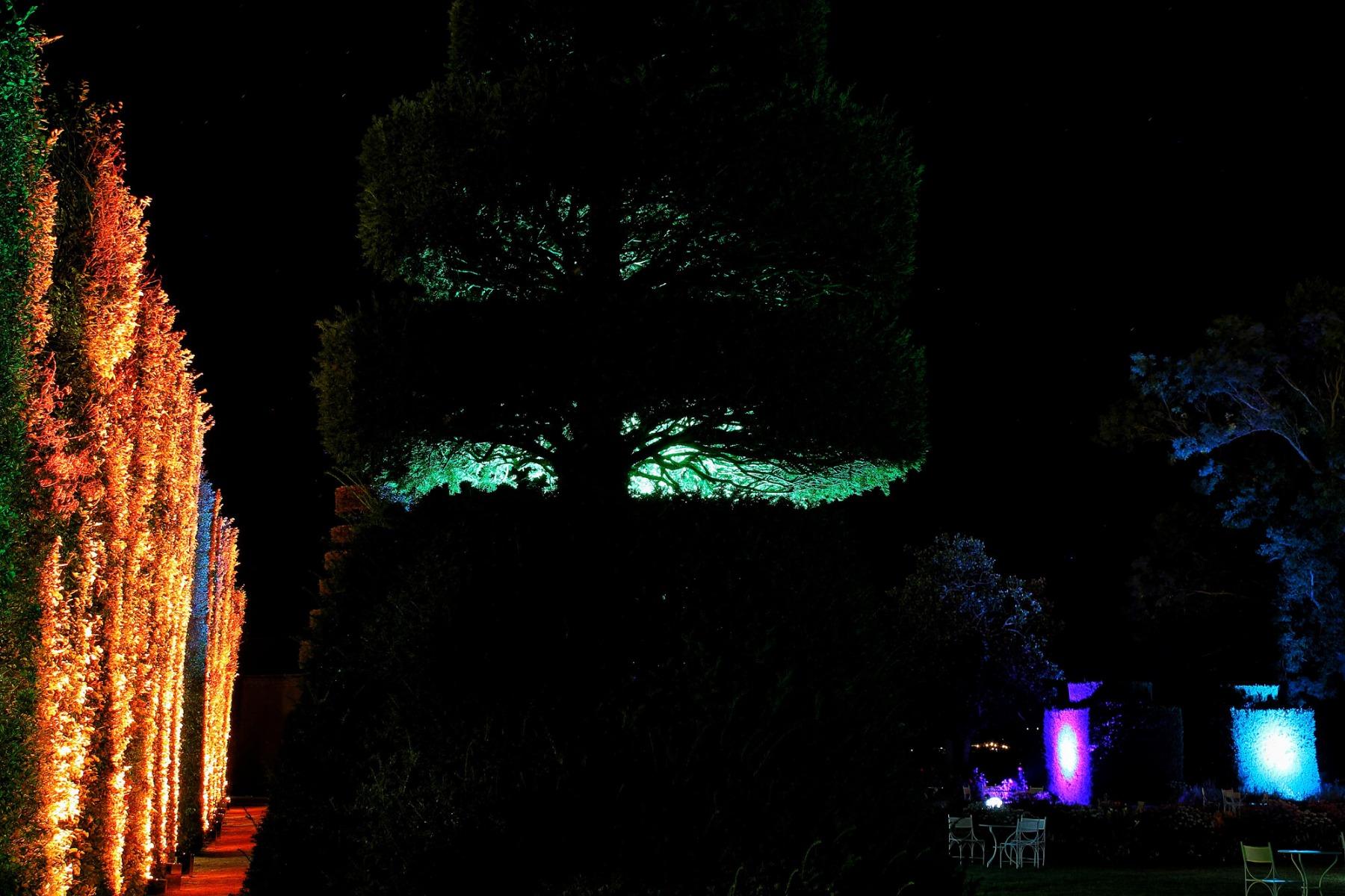 Eclairage extérieur de haies à Lyon