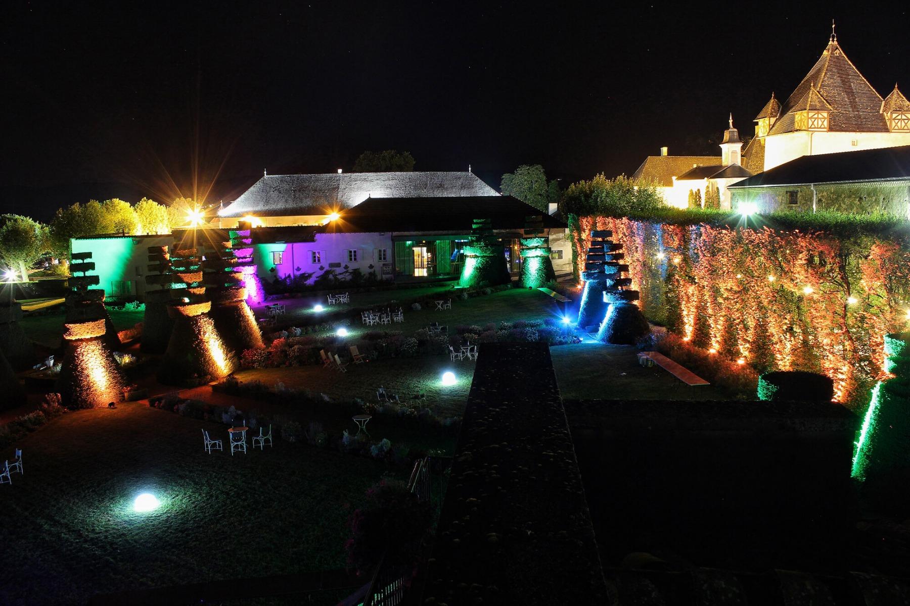 Lumière extérieur étanche pour soirée evenementiel
