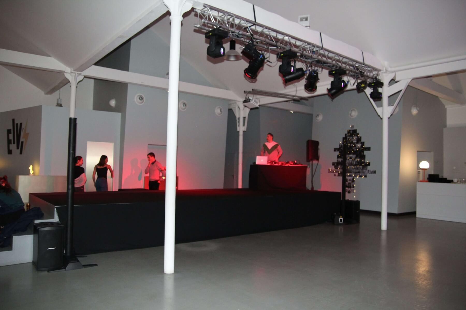 Prestation audiovisuelle soirée d'entreprise Villeurbanne