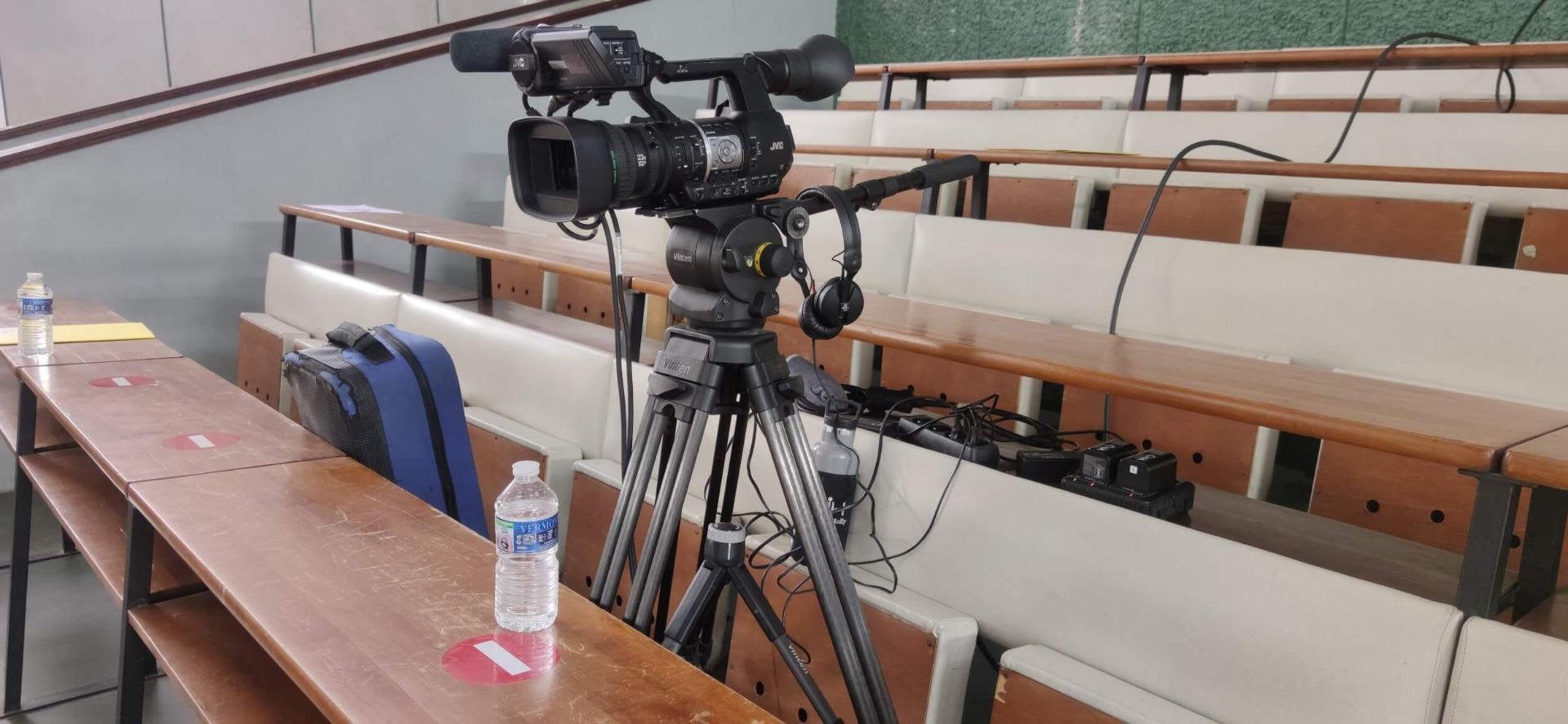 Location caméra pro Tourelle pour captation vidéo