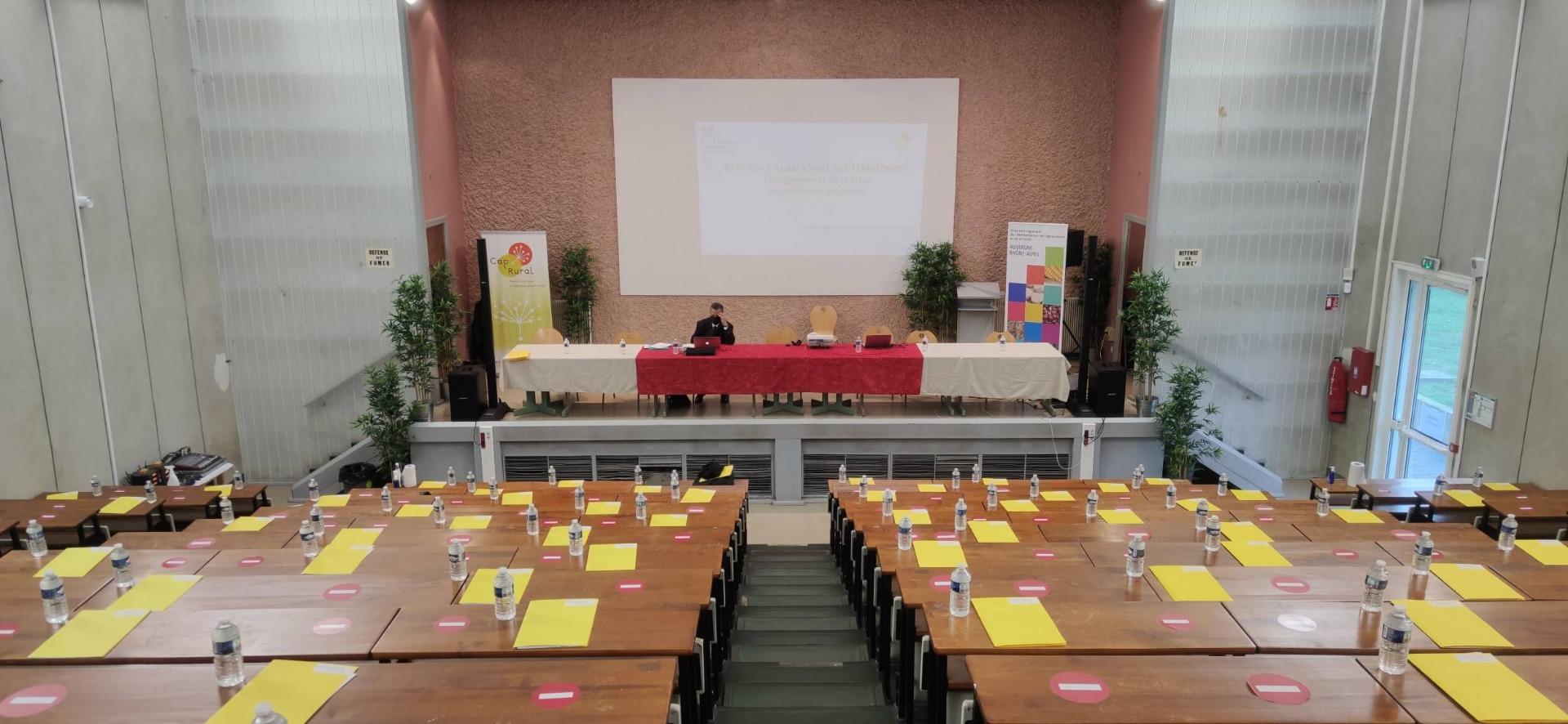 Conférence dans salle avec son et captation vidéo sur Lyon