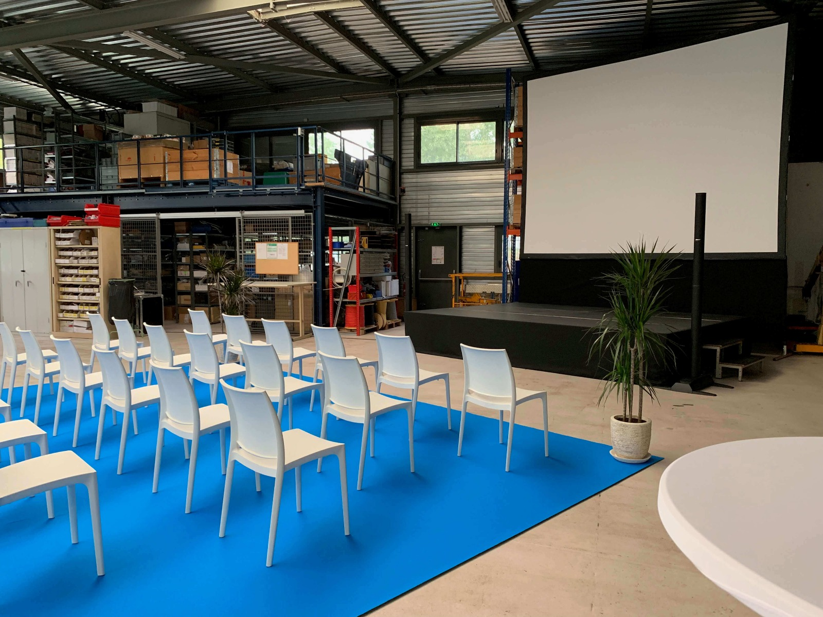 Prestation audiovisuelle d'une conférence d'une société Lyonnaise