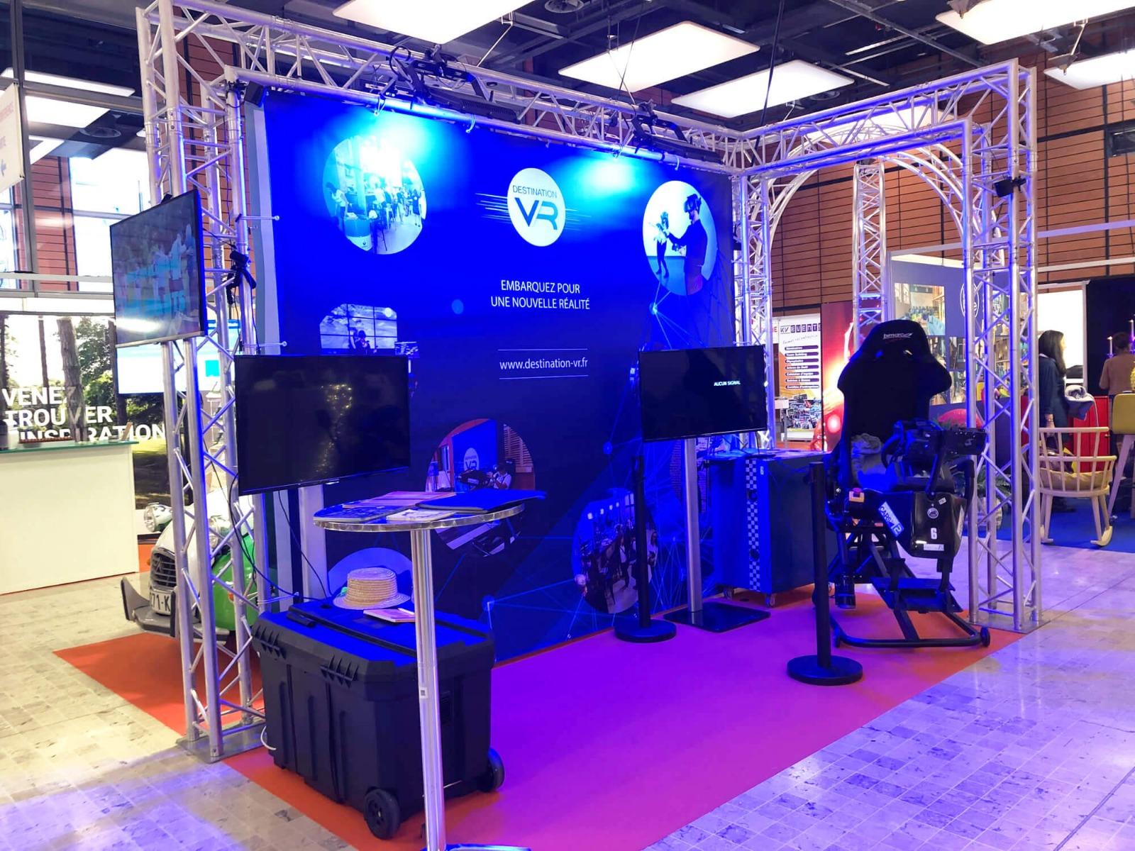 Stand de réalité virtuelle au salon SBE 2020